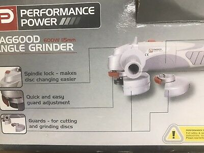 Performance Power Angle Grinder