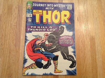 Journey Into Mystery Thor #118 (1966 Marvel Comics) 1st appearance The Destroyer
