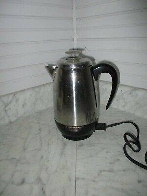 Vintage Farberware Superfast 2-8 Cup Electric Percolator Model  138B