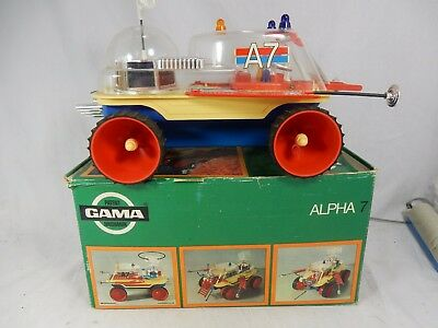 Cool Space Age Mobil   GAMA ALPHA 7 3500  Top Zustand mit original Karton