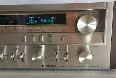 Vintage 80's Pioneer Stereo Receiver SX-3800  100% Serviced