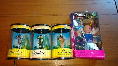 Wizard of Oz Warner Bros Miniature Classic Collection 3 Figurines WB & Tommy