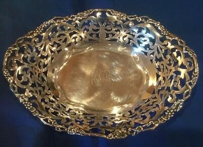 Antique Dominick & Haff J. E. CALDWELL & Co. STERLING SILVER Candy Dish 1895