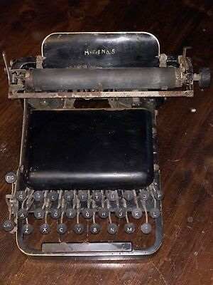 The American #8 Typewriter Armstrong Pullman