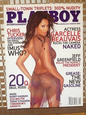 Playboy US 8/2007 Garcelle Beauvais