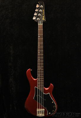 Gibson Victory Bass Standard Candy Apple Red 1981 Electric Bass,