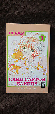 Card Captor Sakura Clear Card Arc Band 1, Manga CLAMP Egmont Fantasy
