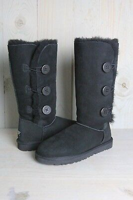214caa8a8bb WOMEN'S SHOES UGG Bailey Button Triplet II Boots 1016227 Grey *New ...