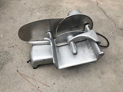 "Hobart Commercial Deli Meat-Cheese Slicer, Model #410, 10"" Blade"
