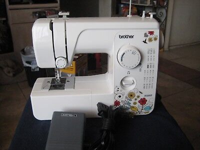 BROTHER JX40 40STITCH Sewing Machine With 40 Stitch Function Extraordinary Brother 17 Stitch Sewing Machine