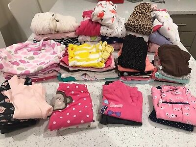 Winter/Fall (57 Items) Lot Of 6 Month Baby Girl Clothes