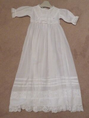 A Beautiful Vintage Edwardian Christening Gown