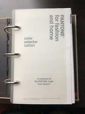 Pantone Color Selector Cotton: For Fashion and Home
