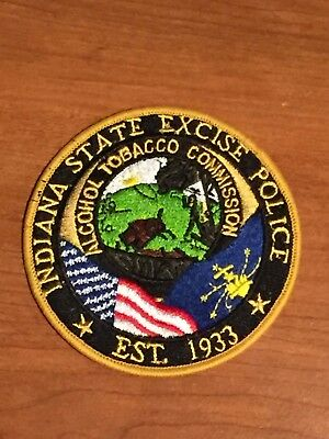 "Defunct Indiana State Excise Police ""Alcohol Tobacco Commission"" Patch"