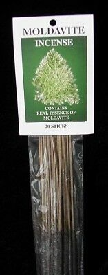 Moldavite Incense Packet of 20 Sticks