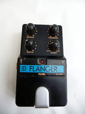 Pearl FG-01 Analogue Flanger Effects Pedal  *1980s* *Made in Japan*