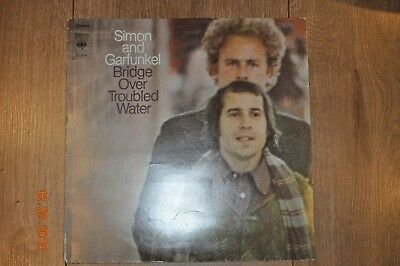 Simon and Garfunkel Bridge Over Troubled Water Vinyl  LP, guter Zustand