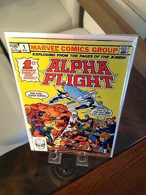 Uber Hot Alpha Flight 1st Issue Vol 1 Key Origin Of Alpha Flight 1st Print