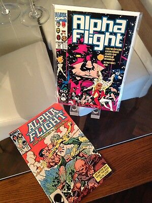 Alpha Flight Issues 15 & 99 Vol 1 1st Prints Gap Fillers Bundle