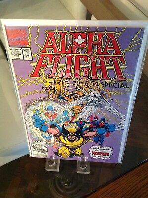 Alpha Flight Origin Special '92 Key 1st Appearance Of Groundhog 1st Print