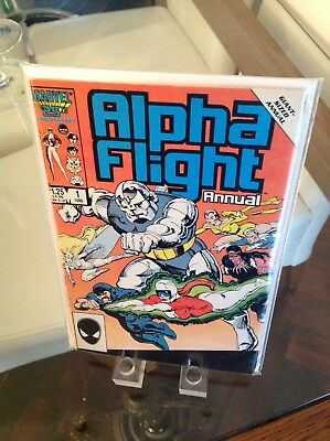 "Alpha Flight Annual 1 Sep '86 1st Print ""Homebody"""