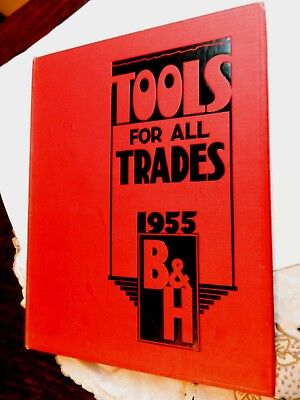 1955 B&H Tools  Large  Hard Back Catalogue