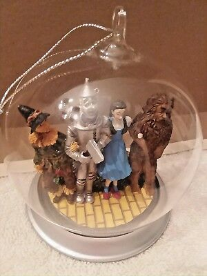 Bradford Wizard Of Oz Ornament, We're Off To See The Wizard 1997.