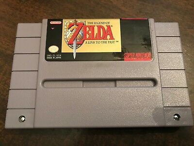 The Legend of Zelda: A Link to the Past (Super Nintendo SNES, 1992) SAVES Tested