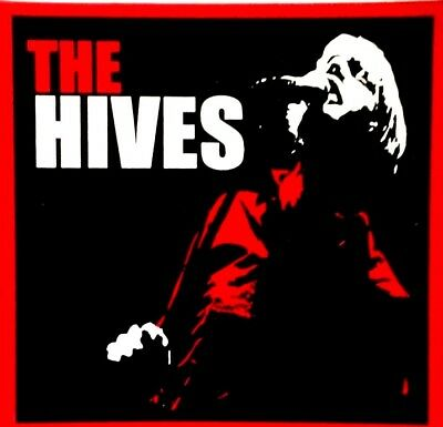 The HIVES rare 4x4 inch vinyl screen printed sticker / decal Swedish Garage Rock