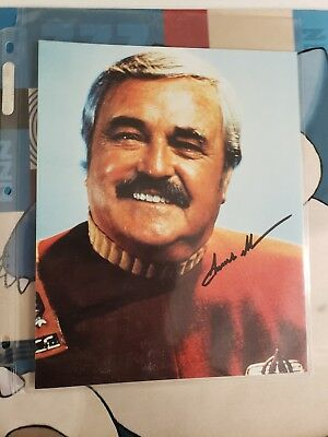 Jimmy Doohan as Scotty From the Classic Star Trek Movies Autographed Picture