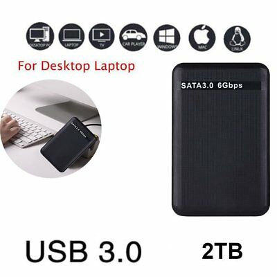 "Expansion Portable Externe Festplatte 2TB USB 3.0 2,5"" 5400 u/min HDD PC & PS1"