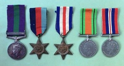 GSM Palestine and WW2 Medal Group to HLI
