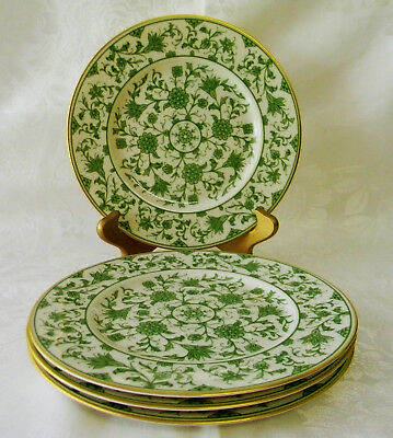 4 Franciscan Lorraine Fine China  Green Salad Plates
