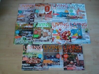 11 Hefte Living at Home 2017