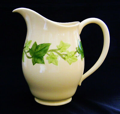 Vintage Franciscan Ivy Pattern China Dinnerware Water Pitcher 8 Inch