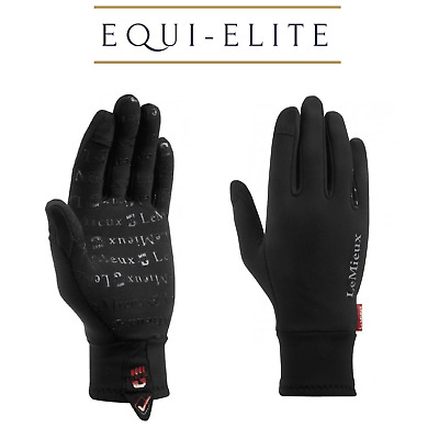 LeMieux Polar Grip Gloves - Thermal Silicone Grip Gloves