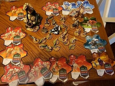 Heroscape Swarm of the Marro 25 Figures Set with cards