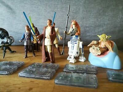 Star Wars (11) Figuren + Commtalk