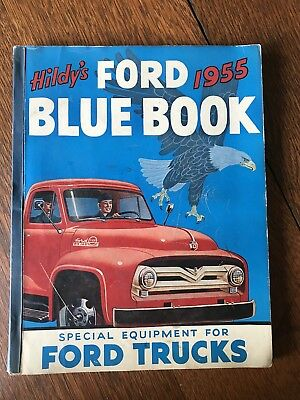 1955 Ford Truck Dealer Hildy Blue Book Special Equipment Catalog