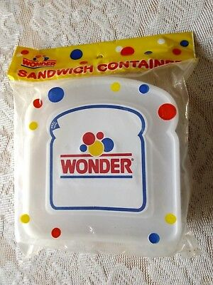Vintage Wonder Bread Sandwich Container * New In Original Package * A Aronson