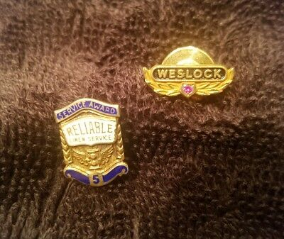 2 For 1 Weslock Service Pin With Stone And Reliable Linen Service Pin
