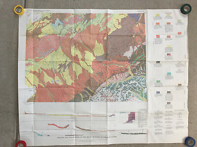 1961 USGS Geologic Map of the Mt. McKinley Quadrangle - Denali