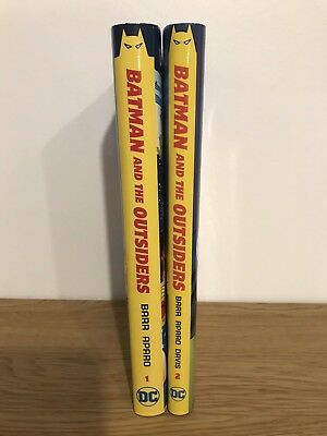Batman And The Outsiders Volumes 1 & 2 Dc Comics Hardcover