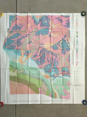 1963 USGS Geology of the Glenwood Springs Quadrangle and Vicinity Map - I