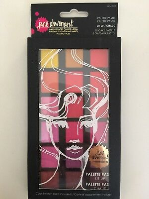 Jane Davenport PALETTE PASTEL LIT UP JDM-009 NEW