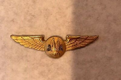 American Airlines flight attendant wings. NO CLASP ON BACK