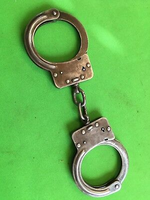 Vintage pair of Crockett & Kelly inc handcuffs