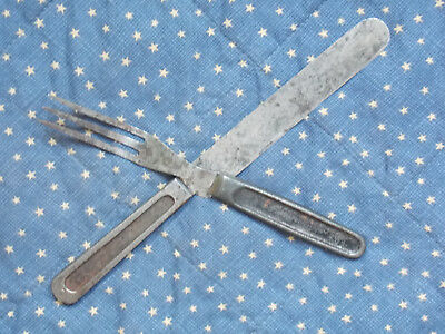 Model 1874 Mess Knife and Fork. Unmarked Indian Wars to Spanish American War era