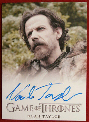 GAME OF THRONES - NOAH TAYLOR as Locke - AUTOGRAPH Card - 2013