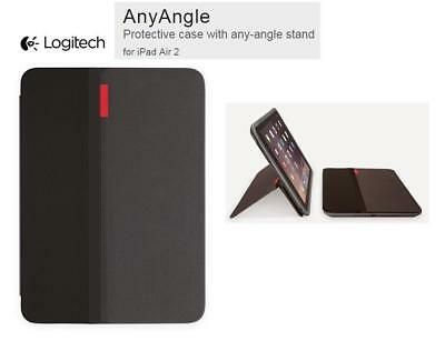 NEW Logitech AnyAngle Protective Folio iPad Air 2 Case Stand
